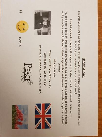 Amber's invitation
