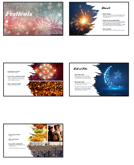 Fatimah's powerpoint all about Diwali