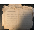 Letters from when Grandpa was a prisoner of war
