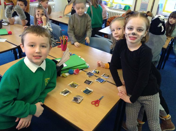 We sorted animals into our own groups.