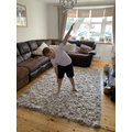 Joe Wicks workout! Well done Liam!
