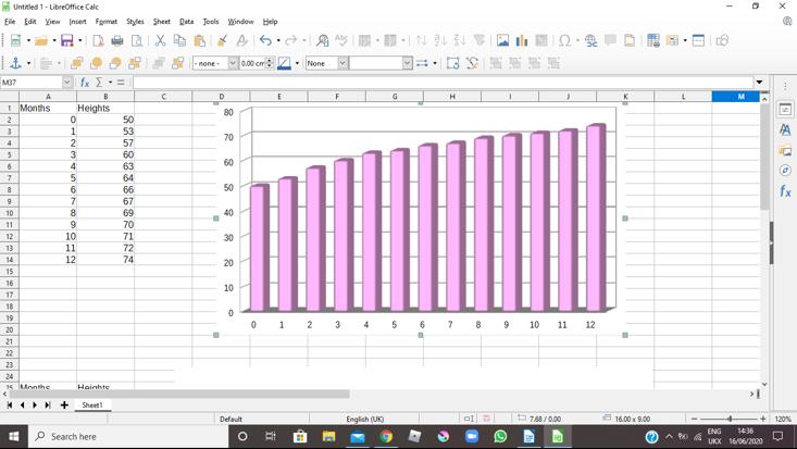 Isobel's Bar Graph