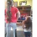 Karate workout! Lovely Keira!