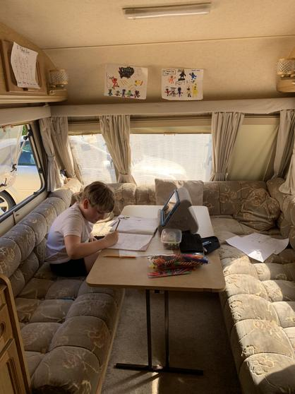 Liam M's new office