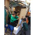 We made a window.