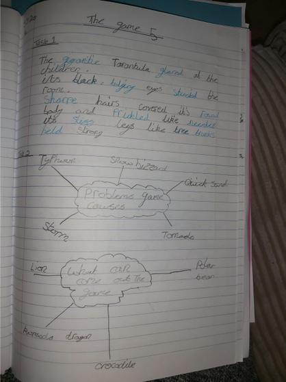 Archie's English work