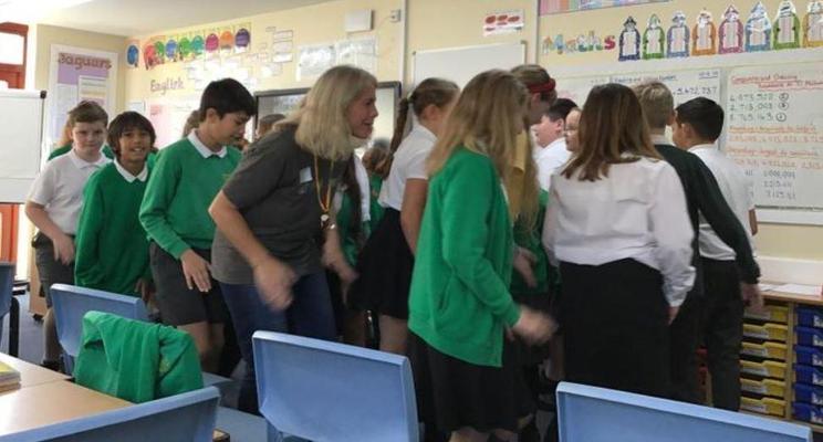 Yr 6 exploring slavery through drama and role play