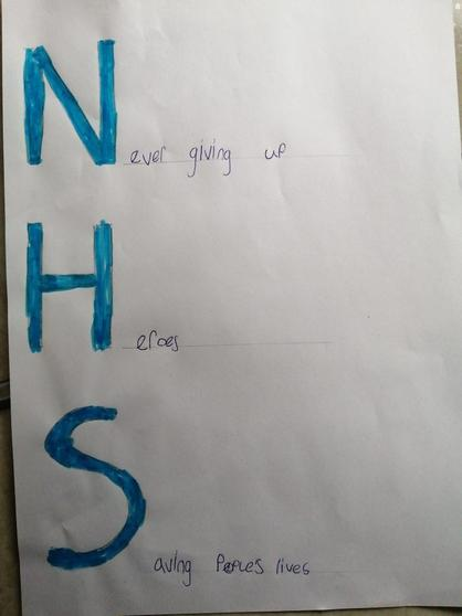 A lovely NHS poem by Amelia