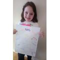 Fantastic NHS poster Caitlin!