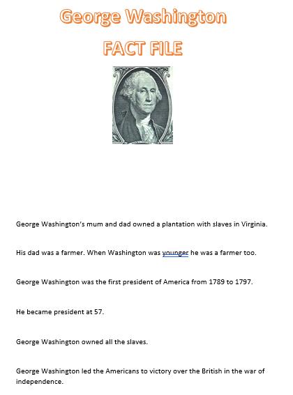 Reuben's fact file