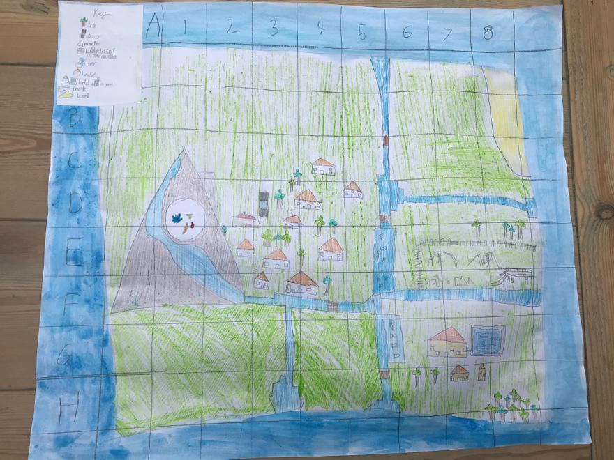 Lovely, detailed map Jackson!