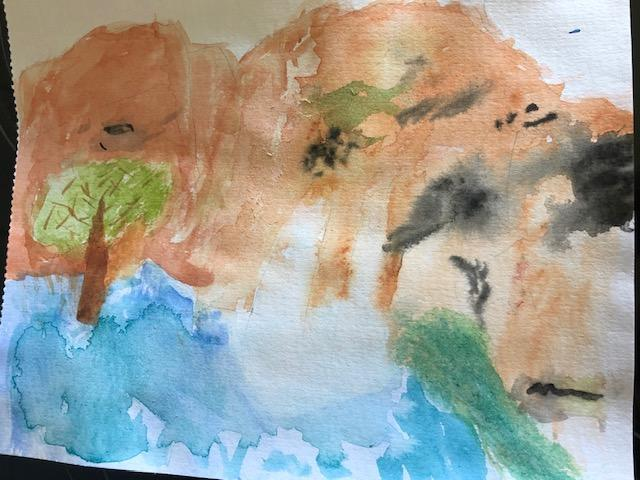 And his water colour depiction. Great work.