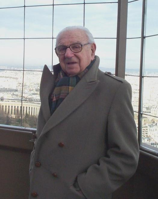 Nicholas Winton in Paris in 2005, aged 96 years