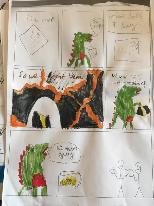 William's comic strip.