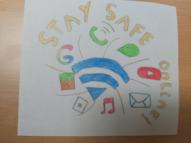 Keeping Internet Safe at Eynesbury logo - S