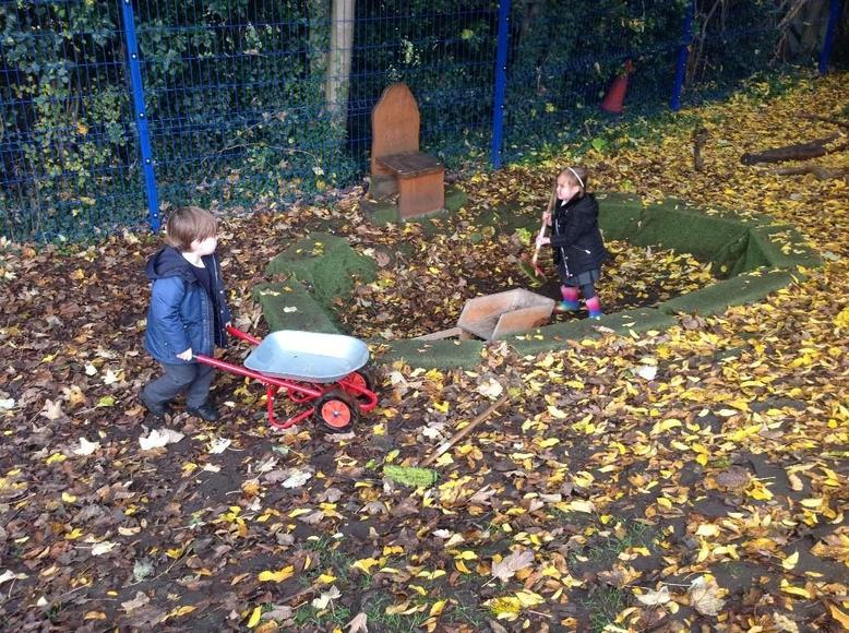 Busy Learning Collecting Natural objects
