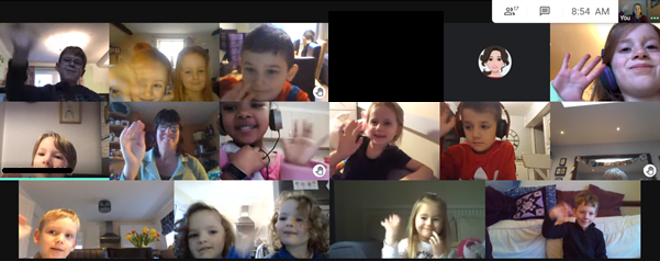 Virtual 'Hello' from Puffins.