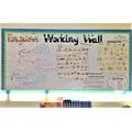 Our English Working Wall to show our learning so far