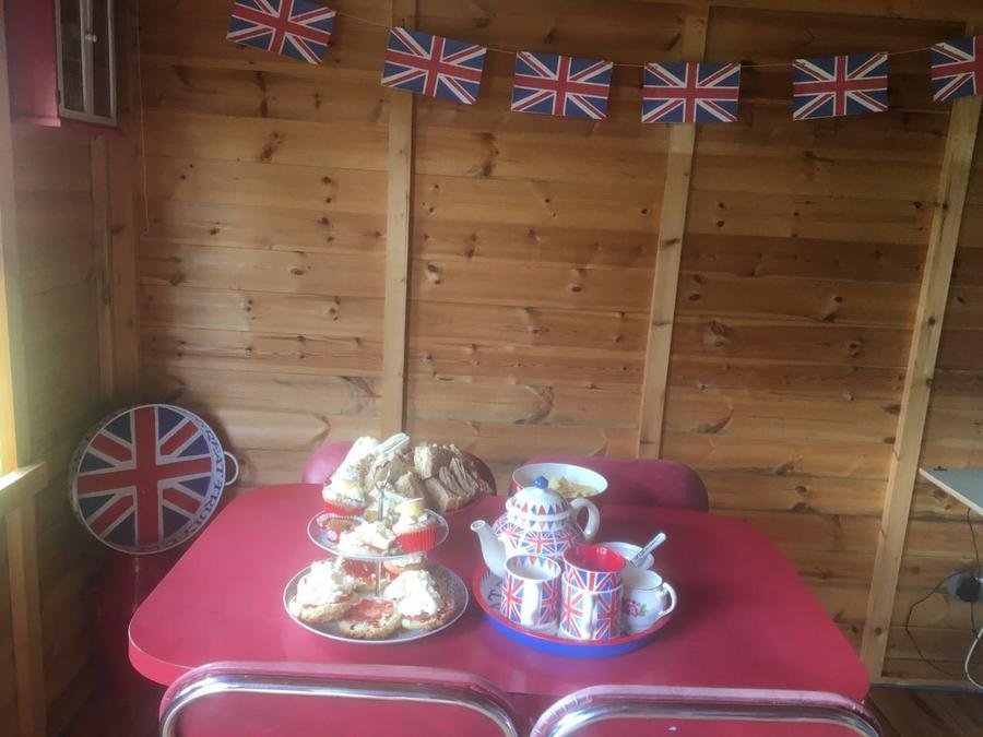 Harrison's Tea Party!