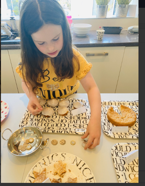 Marley combined baking and money skills!