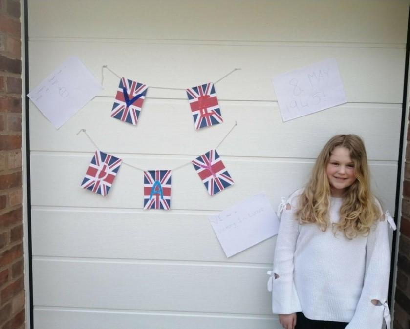 Chloe Redfern's VE Day Celebrations!