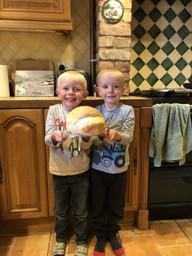 Ross and Logan Home Baking!