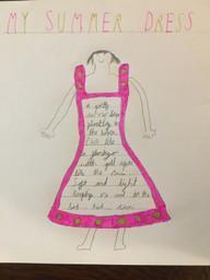 Emma's amazing shape poem!
