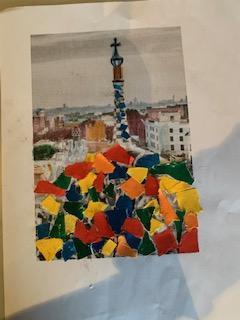 Jonas Mullington's Gaudi architecture artwork!