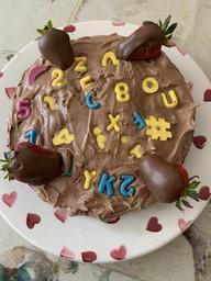 Edward made a delicious cake!