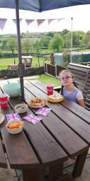 Chloe enjoyed a Tea Party!