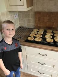 Logan made delicious cookies!