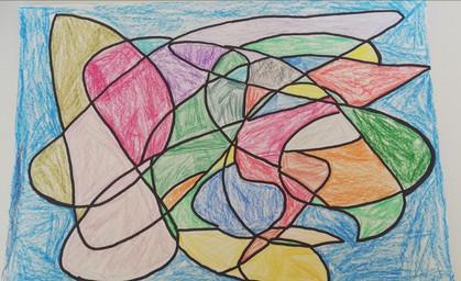 Chloe Oakden's vibrant doodle art!