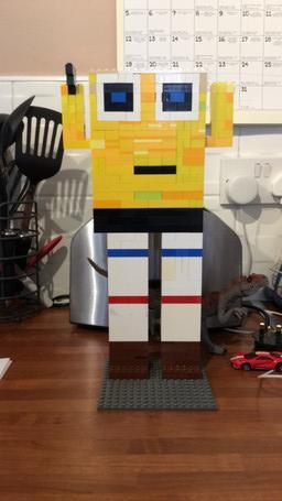 Oscar's Lego Spongebob