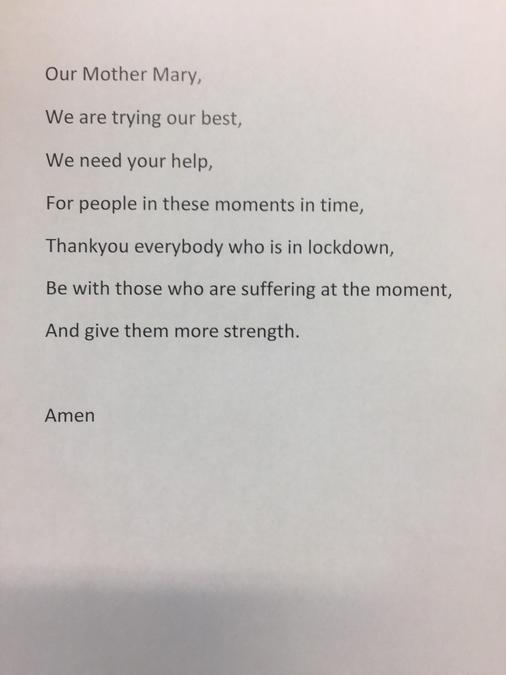 Marni's Prayer.