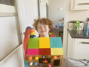 Travis's Rainbow House!