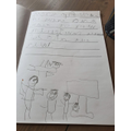 Owen wrote a diary account of his day.