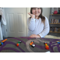 What Lego fraction has Poppy made?
