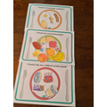 Harper's healthy eating plates.