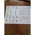 Harper solved the farm crossword.