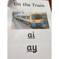 Read the Phonics Booklet.......