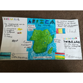 Alfred learnt about Africa