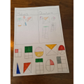 Harper sorted the fractions.