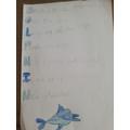 Sophia has written an excellent dolphin poem