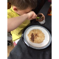 Theo is brilliant at making pancakes!