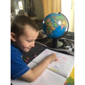Learning about the world.