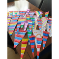 What a colourful lot of bunting!