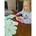 Making phonic lily pads.