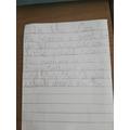 Here is Sophia's underwater story