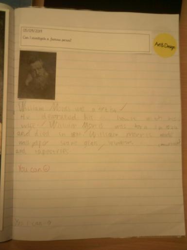 Year 2 - William Morris