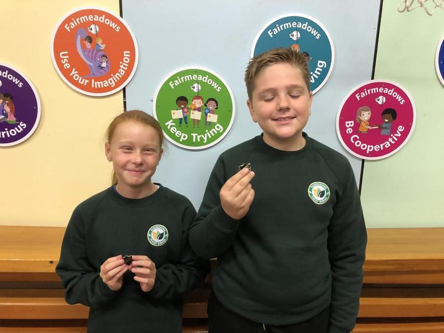 Head Girl and Boy: Lilly-Mae and Ellis